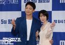 [SW포토] 배우 정지훈-임지연, '웰컴2라이프' 환상호흡