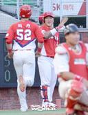 [SW포토]최형우,'터커 홈런 축하해!'