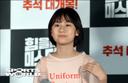 [SW포토] 배우 엄채영,'삭발한 모습도 예뻐요'