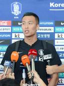 [SW포토]월드컵 예선에 앞선 김신욱