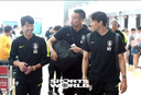 [SW포토]터키로 출국하는 한국축구대표팀