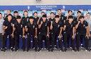 출국하는 한국축구 대표팀