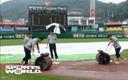 [SW포토] 빗물제거작업