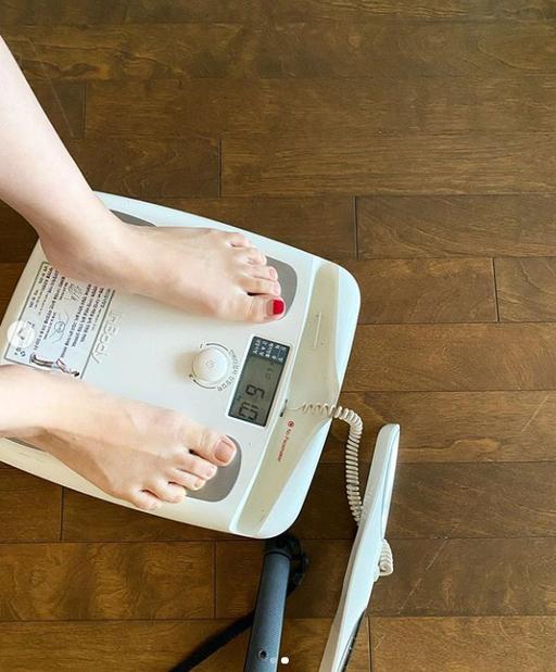 '다이어트 여신' 박은지, 일주일 만에 2.2kg 어떻게 뺐나[스타★샷]